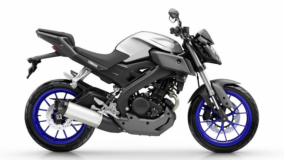 Yamaha MT blue