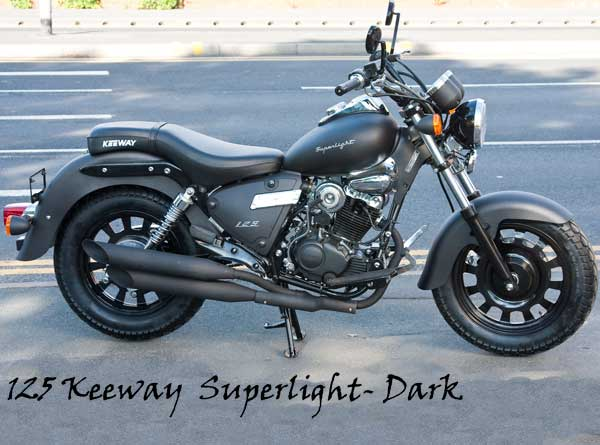 Keeway Superlight Dark